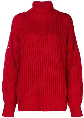 P.A.R.O.S.H. turtle neck knit jumper