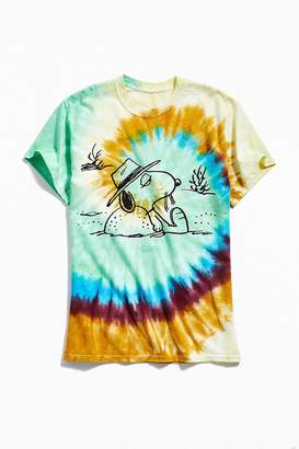 Urban Outfitters Spike Relax Tie-Dye Tee