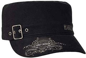 Harley-Davidson Women's Studded Wild & Free Painter's Cap w/Buckle PC16730