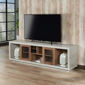 Brayden Studio Cioffi Industrial TV Stand for TVs up to 70""
