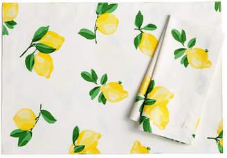 Kate Spade Make Lemonade Table Linens Collection Napkin