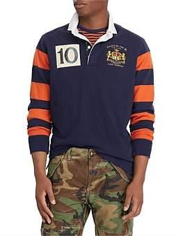 Polo Ralph Lauren Mens Long Sleeve Knit Loose Uneven Jersey