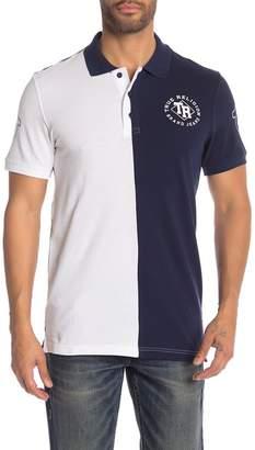 True Religion Short Sleeve Two-Tone Polo