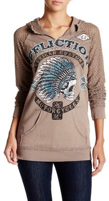 Affliction Arrow Hooded Pullover