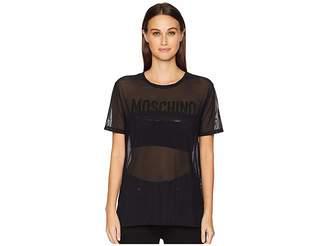 Moschino Microfiber Maxi T-Shirt