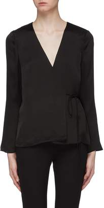 Theory Side tie wrap top