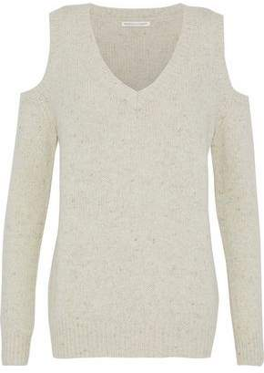 Rebecca Minkoff Cold-Shoulder Merino Wool-Blend Sweater