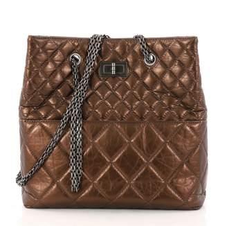 Chanel Metallic Leather Handbag