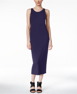 Eileen Fisher Jersey Midi Dress, A Macy's Exclusive $198 thestylecure.com