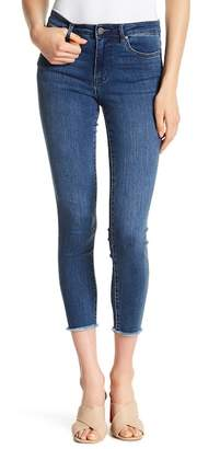 Tractr Frayed Hem Cropped Skinny Jeans