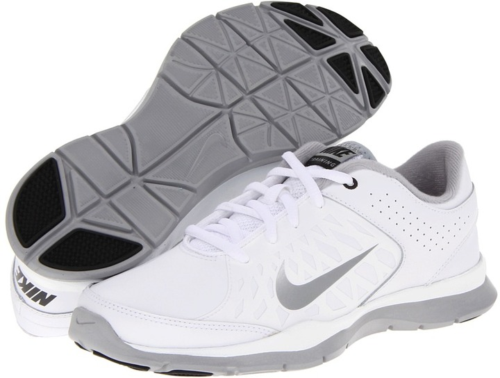 Nike Core Flex (White/Black/Metallic Silver) - Footwear