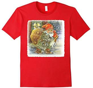 Dansk Norsk svensk god jul christmas nisse t-shirt XMAS