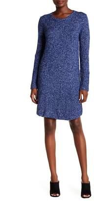 Velvet by Graham & Spencer Mixed Stitches Dress