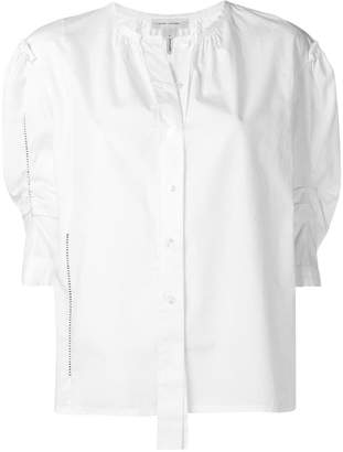 Marc Jacobs round neck poplin blouse