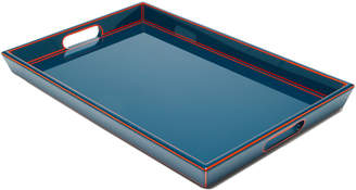 The Lacquer Company Two-Tone Lacquered Wood Tray
