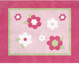 JoJo Designs Sweet Flower Pink Area Rug Rug