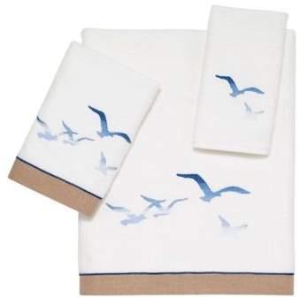 Avanti Seagulls Hand Towel in White