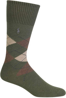 Polo Ralph Lauren Men Men Five Diamond Argyle Socks