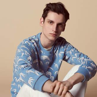 Sandro Palm tree print sweatshirt