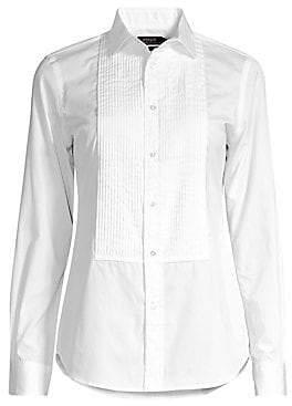 Polo Ralph Lauren Women's Cotton Tuxedo Shirt