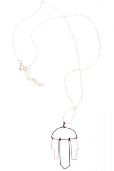 Styleserver DE By Boe Halskette metropolitan - vergoldet