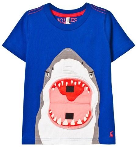 Joules Blue Shark 3D Tee