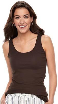 Skechers Sonoma Goods For Life Women's SONOMA Goods for Life Long Layering Tank