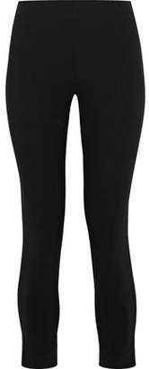 Moschino Cropped Stretch-cady Leggings