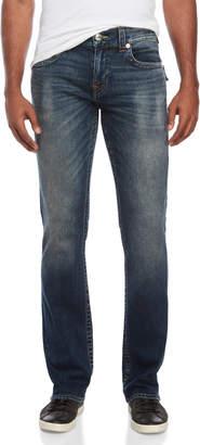 True Religion Flap Pocket Straight Leg Jeans