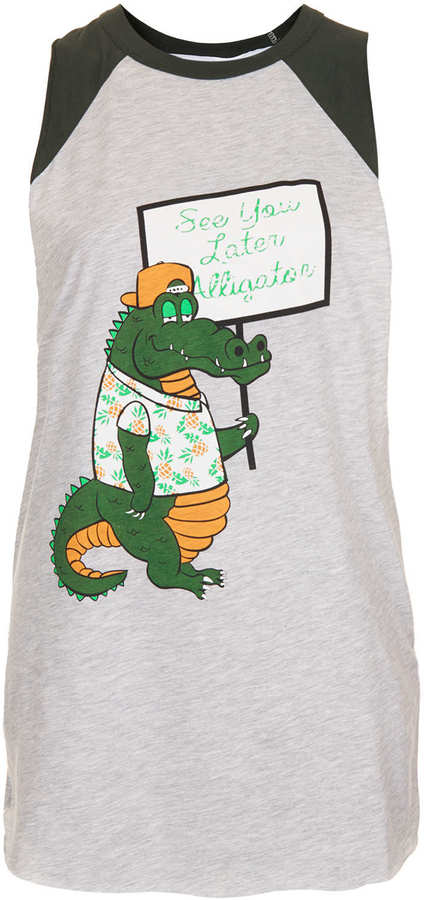 Topshop Alligator Tank By Tee And Cake