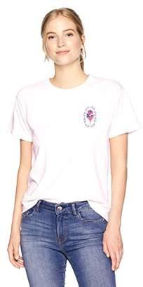 Obey Junior's Rosette Long Sleeve Crew Neck Tshirt