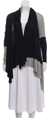 Yigal Azrouel Asymmetrical Colorblock Cardigan