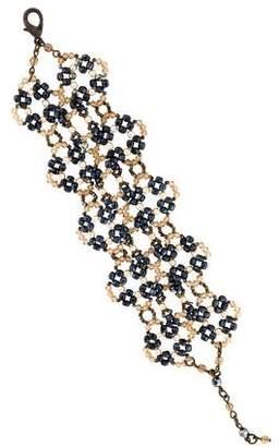 Erickson Beamon Faux Pearl Beaded Bracelet