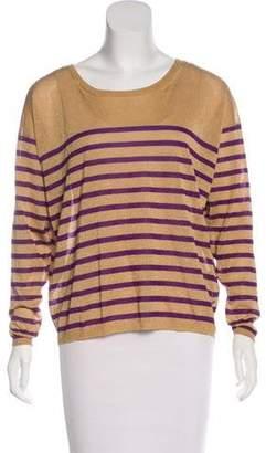 Emilio Pucci Metallic Striped Sweater