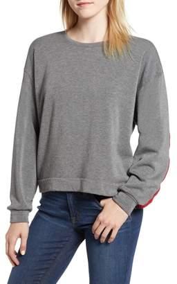 Velvet by Graham & Spencer Athleisure Stripe Detail Sweatshirt