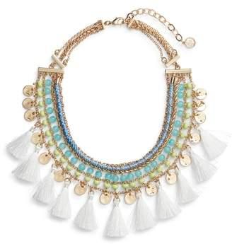 Lilly Pulitzer R) Surf Seafari Bib Necklace