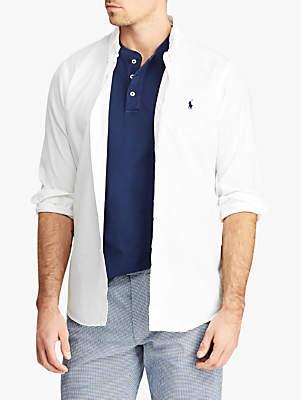 Ralph Lauren Polo Slim Fit Twill Shirt, White