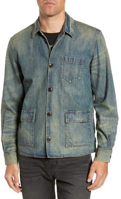 John Varvatos Darren Star Slim Fit Denim Shirt Jacket