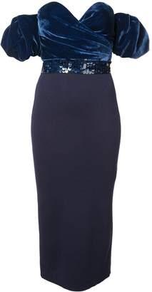 Sachin + Babi Stassi off-the-shoulder dress