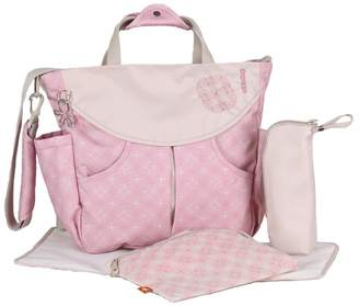 Okiedog Biscotti Sumo Messenger Diaper Bag & Backpack By Pink)
