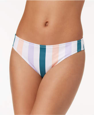af912e83fd at Macy s · Macy s Hula Honey Juniors  Striped Hipster Bikini Bottoms