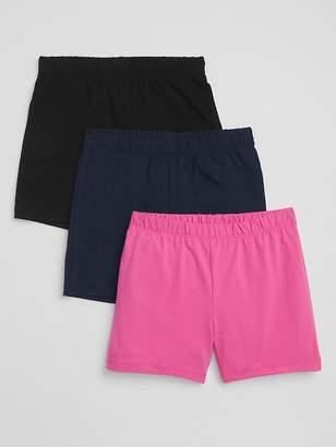 Gap Cartwheel Shorts in Stretch Jersey (3-Pack)