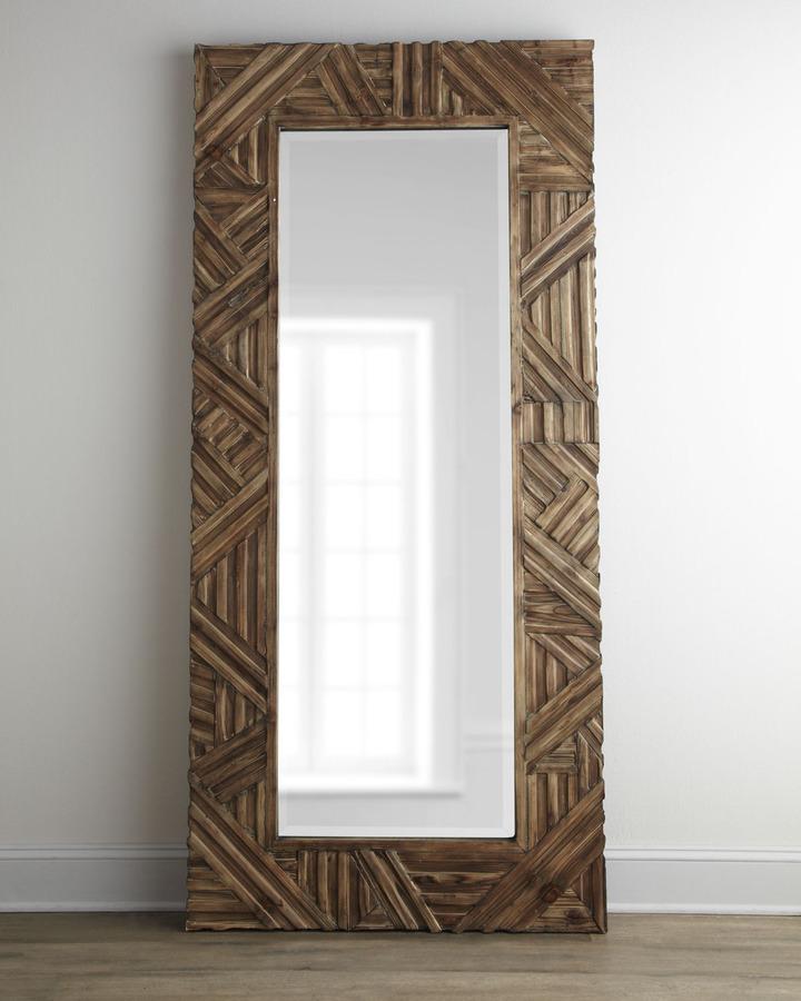 "Horchow ""Tehama"" Floor Mirror"