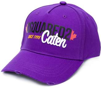DSQUARED2 Caten embroidery baseball cap