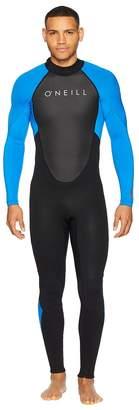 O'Neill Reactor-2 3/2 Back Zip Full Men's Swimwear