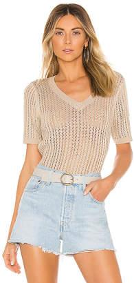 Line & Dot MOI Vネックセーター