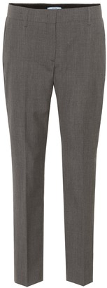 Prada Cropped wool trousers