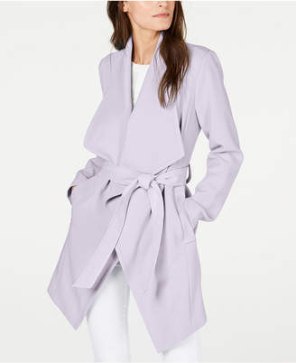 T Tahari Abbey Wrap Coat