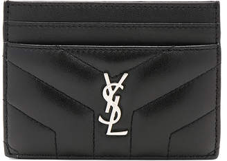 Saint Laurent Monogramme Loulou Credit Card Case
