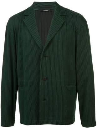 Issey Miyake pleated corduroy jacket